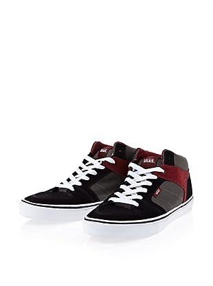 Vans Ellis VJWV5QS Herren Sneaker (Schwarz (black/charcoal/deep red))