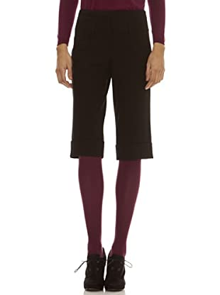 Trussardi Pantalón Cierre De Tres Clip (negro)