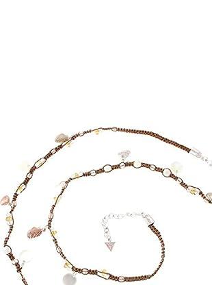 Guess Halskette UFN40903 silberfarben