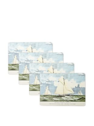 RockFlowerPaper America's Cup 1881 Placemat (Set of 4)