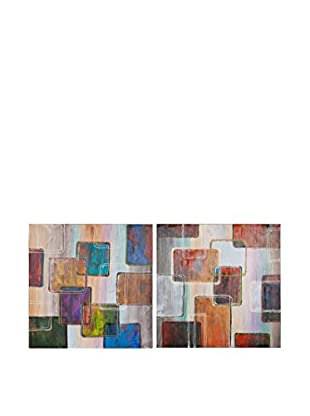 Vical Home Set Lienzo 2 Uds. Abstract