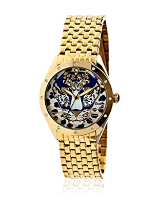 Bertha Uhr mit Japanischem Quarzuhrwerk Alexandra goldfarben 41 mm