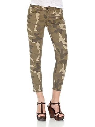 Springfield Pantalón Military 5 Pockets (Verde)