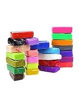 Towallmark(TM)24pcs Malleable Fimo Polymer Modelling Soft Clay Blocks Plasticine DIY