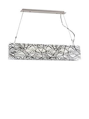 Light&Design Lámpara De Suspensión Belinay Blanco/Negro