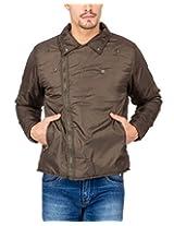 Campus Sutra Olive Mens Jacket(AW15_JK_M_P5_OL_XL)