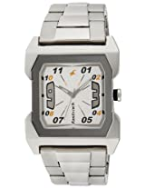 Fastrack Essentials Analog White Dial Men's Watch - NC3026SM01