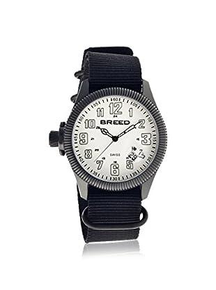 Breed Men's BRD6203 Angelo Black/White Nylon Watch