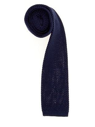 Cortefiel Krawatte (Nachtblau)