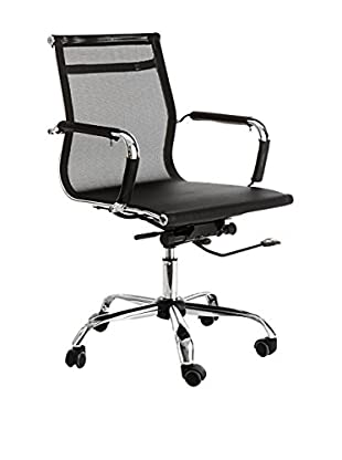 Contemporary Office Silla De Oficina Web Negro