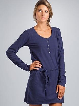Le Temps Vestido Zaz (azul oscuro)