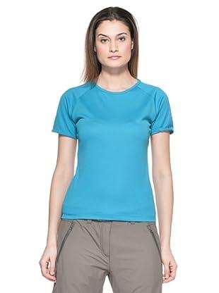 Salewa Camiseta Sports Dry W (Turquesa)