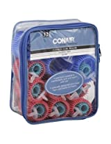 Conair Styling Essentials Rollers, Cushion Curl, Assorted Sizes, 32 Pieces
