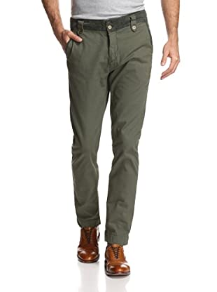 Just A Cheap Shirt Men's Poseidon Pant (Dark Green)