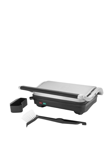 Wolfgang Puck Panini Duet and Multipurpose Grill, Silver