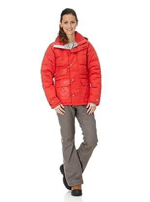 Burton Abrigo Snow Dandringe Dwn (rojo)