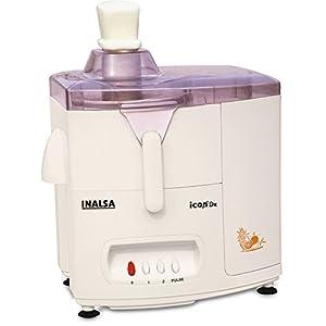 Inalsa Icon Dx 450-Watt Juicer Mixer Grinder with 3 Jars