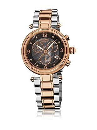 Burgi Uhr mit Schweizer Quarzuhrwerk BUR080RG 38 mm