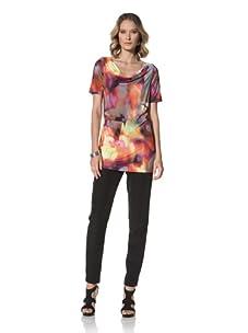 Escada Sport Women's Edne Printed Jersey Top (Multi)