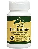 Tri Iodine 6.25mg EuroPharma (Terry Naturally) 90 Caps