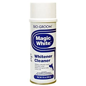 Bio-Groom MAGIC WHITE Spray Can for Dogs and Cats 10 oz