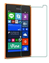JAIFAON Premium NOKIA LUMIA 730 Tempered Glass Screen Protector Guard (Clear)