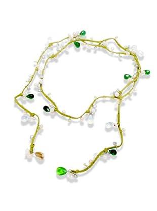 Nova Pearls Copenhagen Collar de Perla De Agua Dulce 4 -6  mm