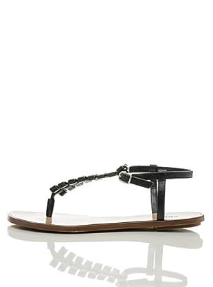 Furla Sandalette Flip Flop (Schwarz)