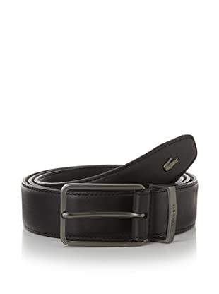 Lacoste Men's Classic Leather Belt (Black)