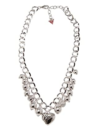 Guess Halskette Ubn11117 silber