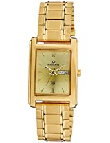 Maxima Analog Gold Dial Men's Watch - 07554CPGY