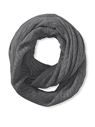 Cullen Women's Cashmere Multi-Texture Infinity Scarf, Fog