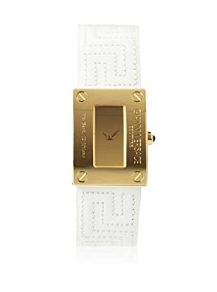 Versace Women's 72Q70D999S001 White/Gold Stainless Steel Watch