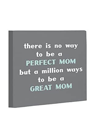 One Bella Casa Perfect Mom/Great Mom Canvas