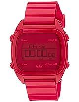 Adidas Digital Red Dial Men's Watch - ADH2729