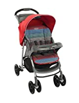 Graco Mirage Plus Stroller, Pepper Stripe