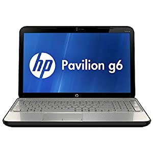 HP Pavilion G6-2304TX 15.6-inch Laptop (Linen white) without Laptop Bag