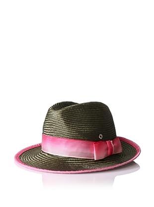 Florabella Women's Wallis Ribbon Hat (Brown)