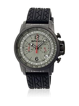 Breed Reloj con movimiento cuarzo japonés Brd5404 Negro 44  mm