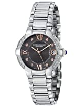 Stuhrling Original Women's 338L.121154 Symphony Regent Countess Elite Swiss Quartz Genuine Diamond Date Bracelet Watch