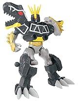Power Rangers Dino Charge - Mixx N Morph Dino Charge Black T-Rex Rangerzord Action Figure