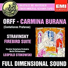 Orff;Carmina Burana