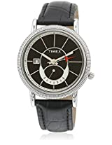 J201 Black/White Analog Watch
