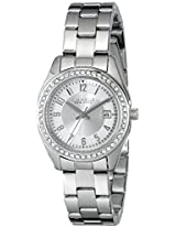 Caravelle by Bulova Crystal Analog Champagne Dial Women's Watch - 43M108