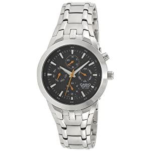 Casio Edifice Black Dial Men's Watch - EF-312D-1AVDR (ED152)