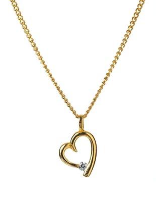 MUSAVENTURA Collar  Heart Fundicion Oro Oro
