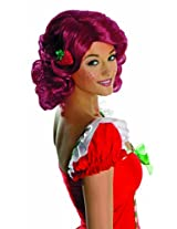 Secret Wishes Deluxe Adult Strawberry Shortcake Wig
