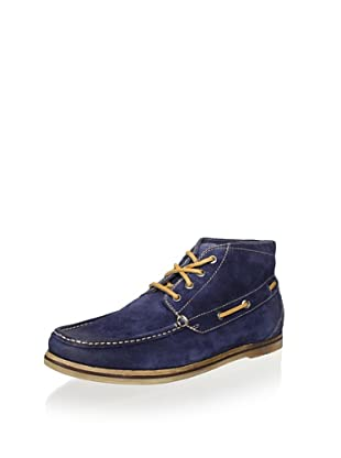 Florsheim Men's Tienomite Mid Boat Shoe (Navy)