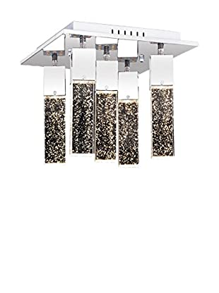 Light&Design Lámpara De Techo Viyana Plateado