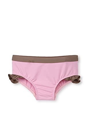 Les UltraViolettes Girl's Scoubidou Shorty Swim Short (Rose)